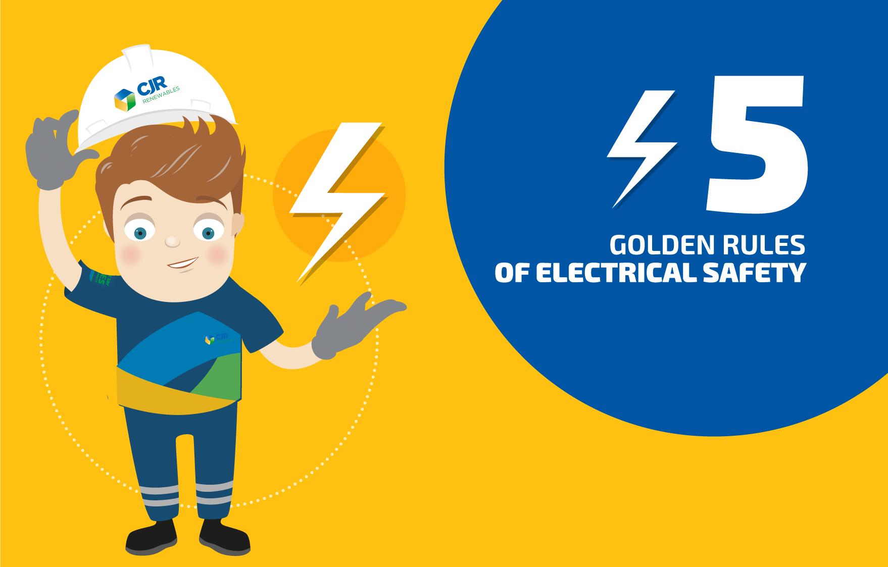 5 Golden Rules of Electrical Safety 0