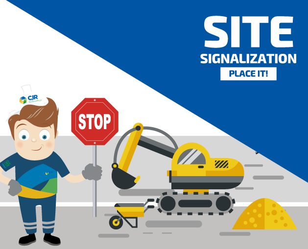 Site signalization is a must! 0
