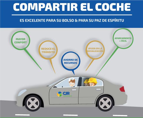 ¡Compartir coche es una opción! 1
