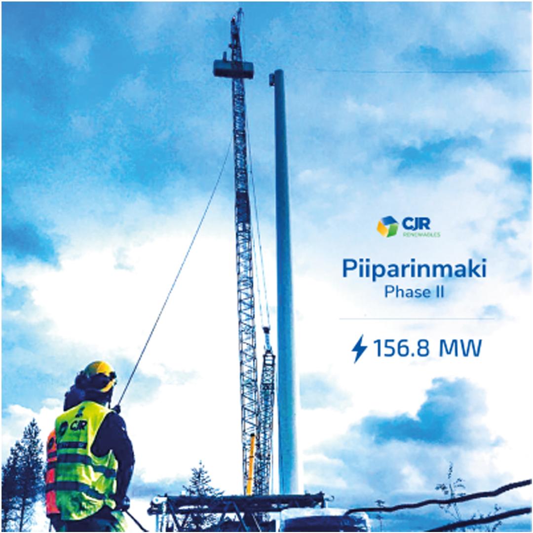 CJR Renewables awarded Piiparinmaki Phase II 0