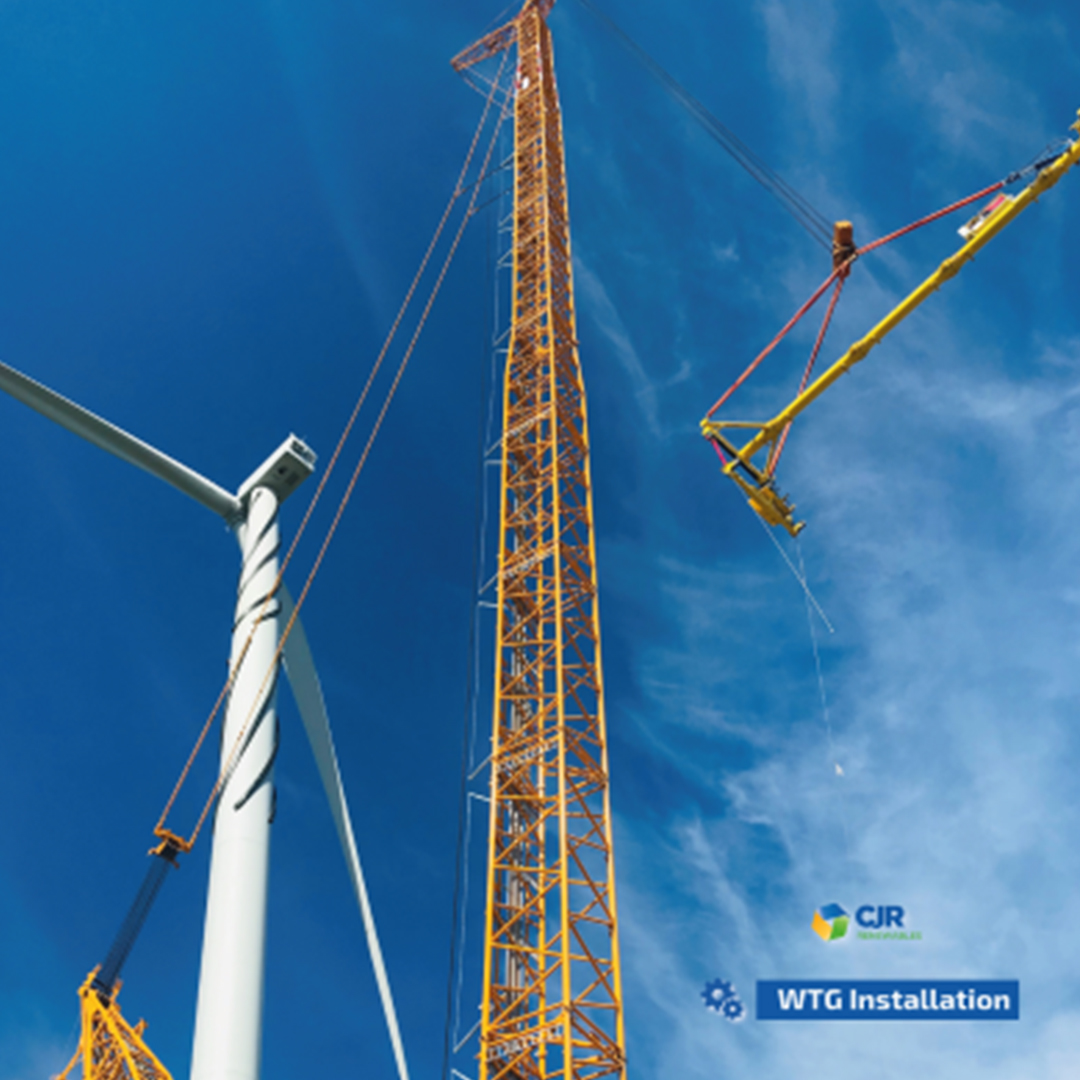 WTG Installation Team with six projects in German Territory 0