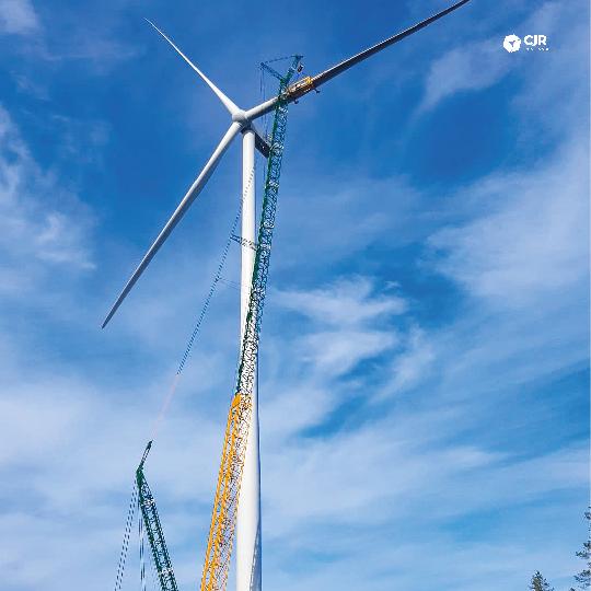 CJR Renewables installs first turbine at Simo – Sarvisuo Wind Farm 0