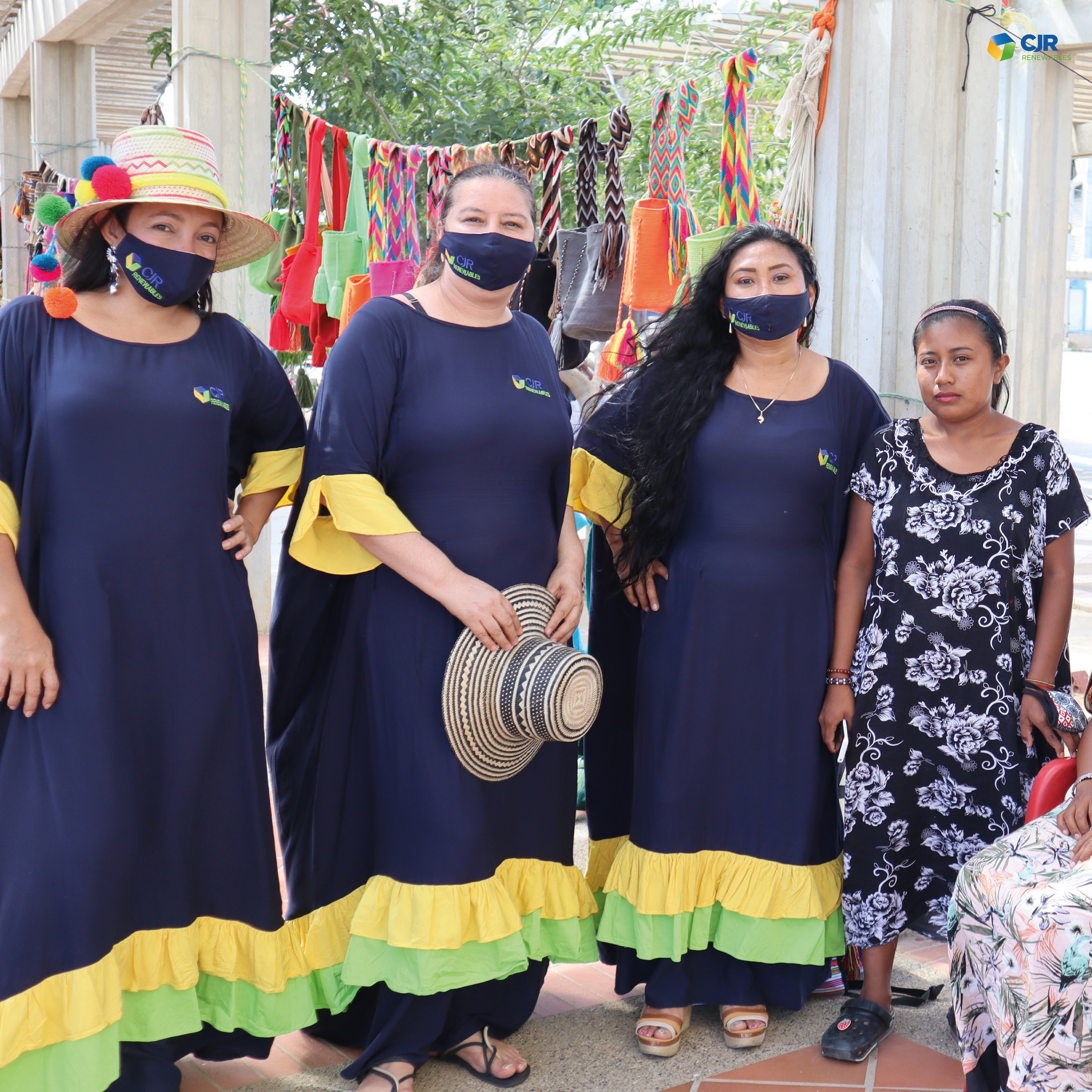 CJR Renewables participates in Colombian community festive day 0