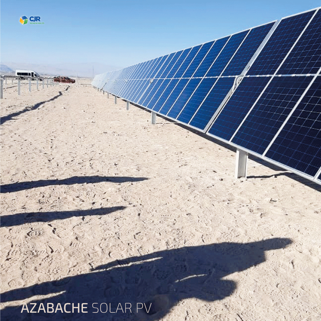 Azabache: First 90 panels installed 0