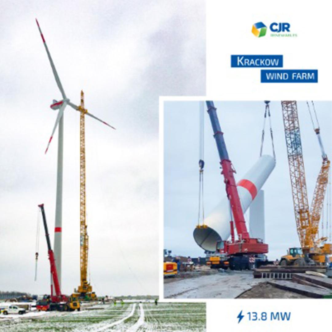 CJR Renewables is installing four Vestas 3