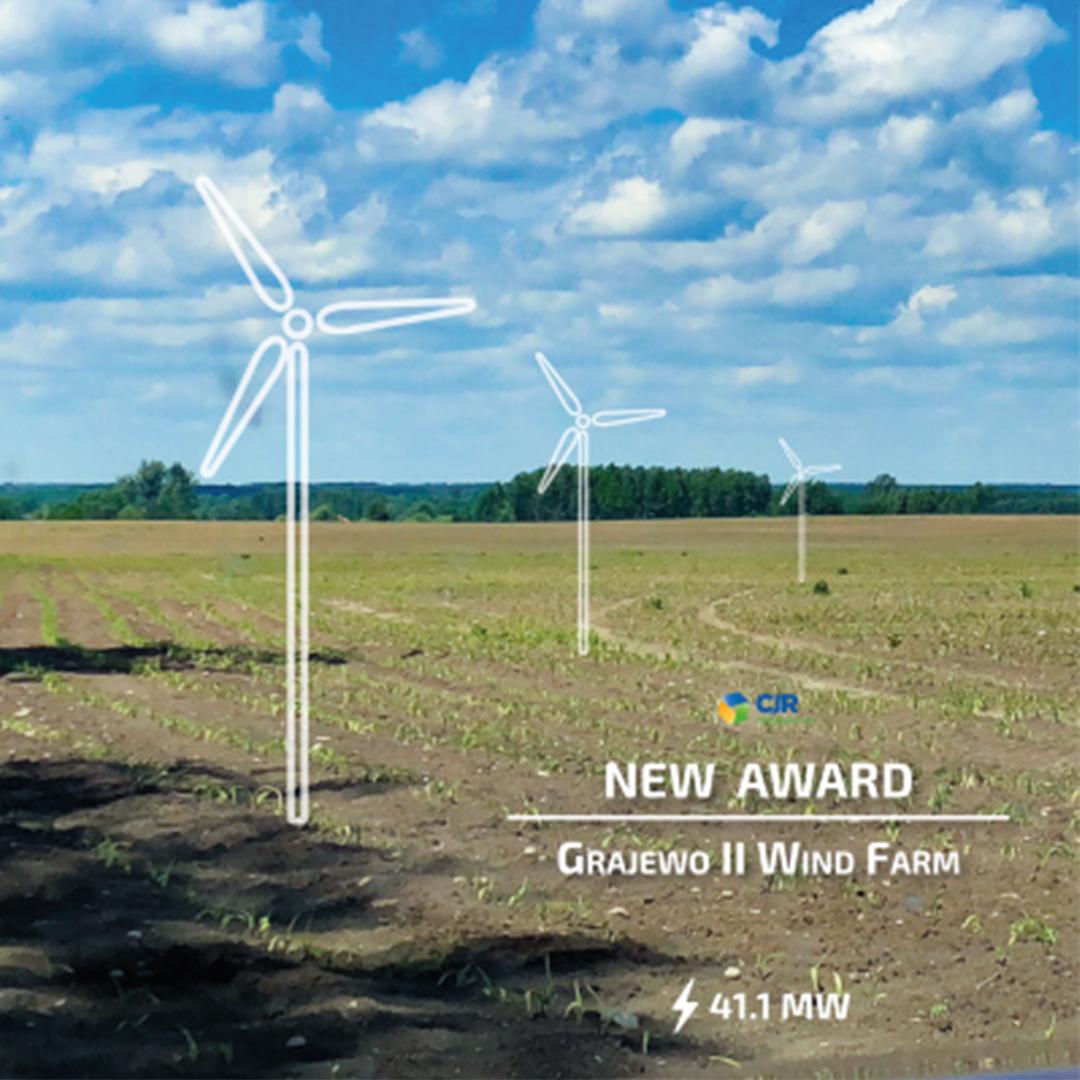 CJR Renewables Awarded Grajewo II Wind Farm 0