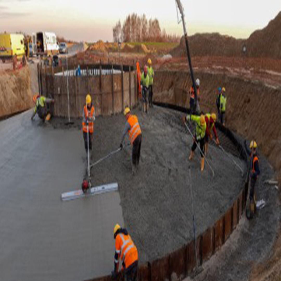 Bogoria Wind Farm: first foundation concrete in progress 0