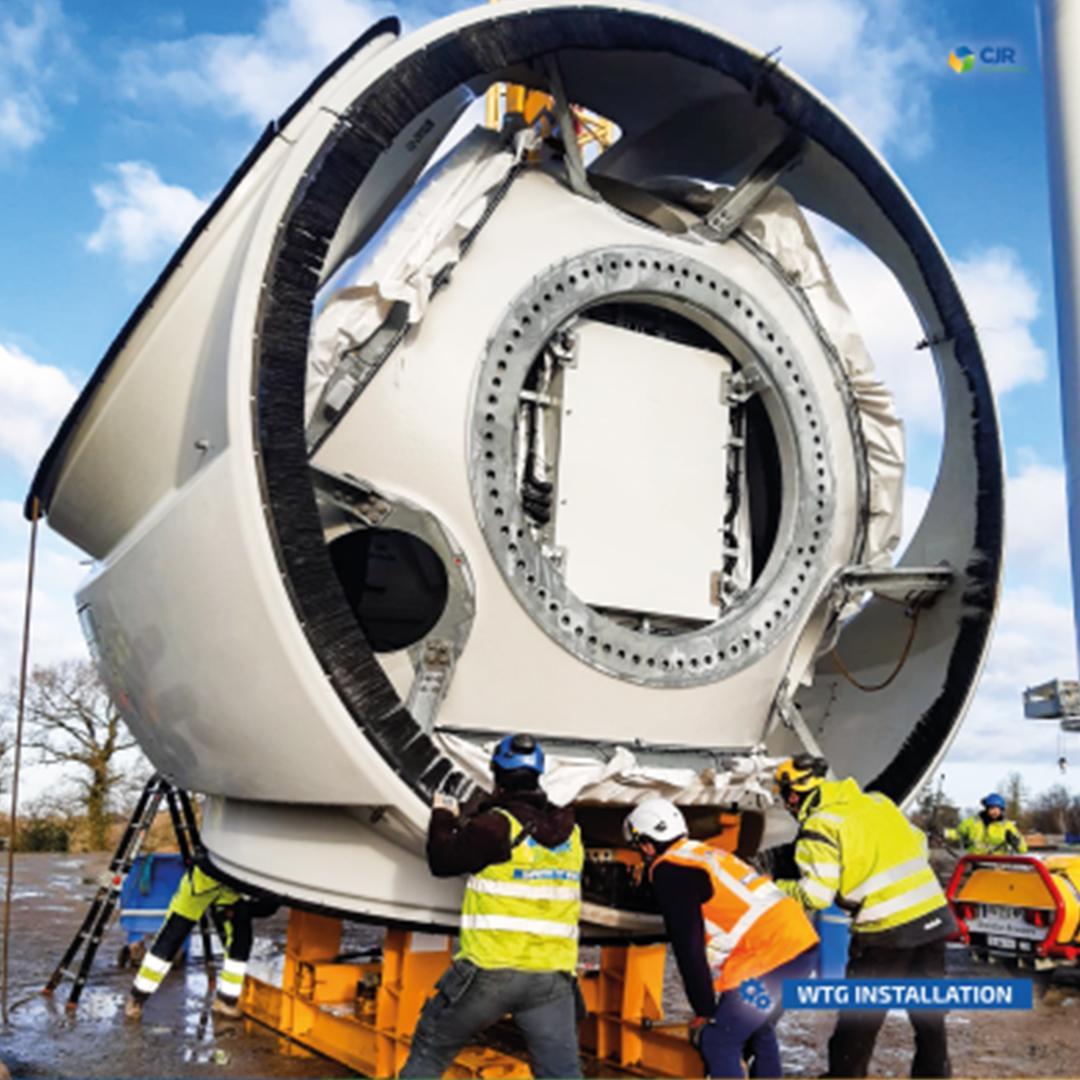 Negrete Wind Farm (36MW) will be operational in 2021 0