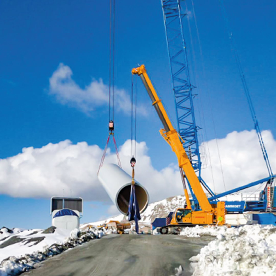 Vestas selected CJR Renewables for Enventus Platform' installation: the new generation of onshore wind turbine 0